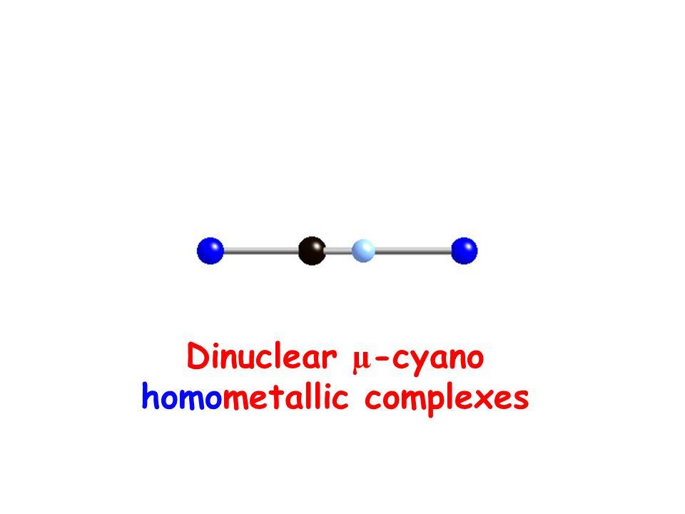 homometallic complexes