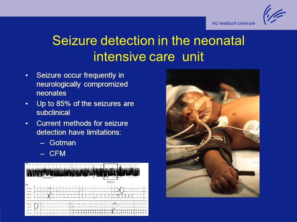 Seizure detection in the neonatal intensive care unit