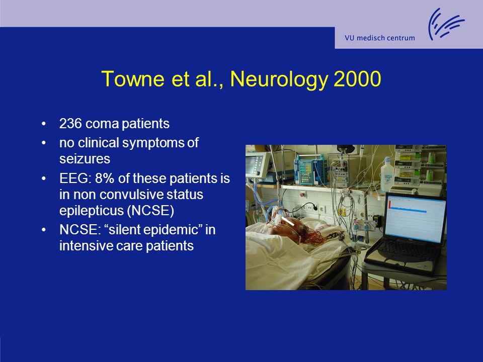 Towne et al., Neurology 2000 236 coma patients