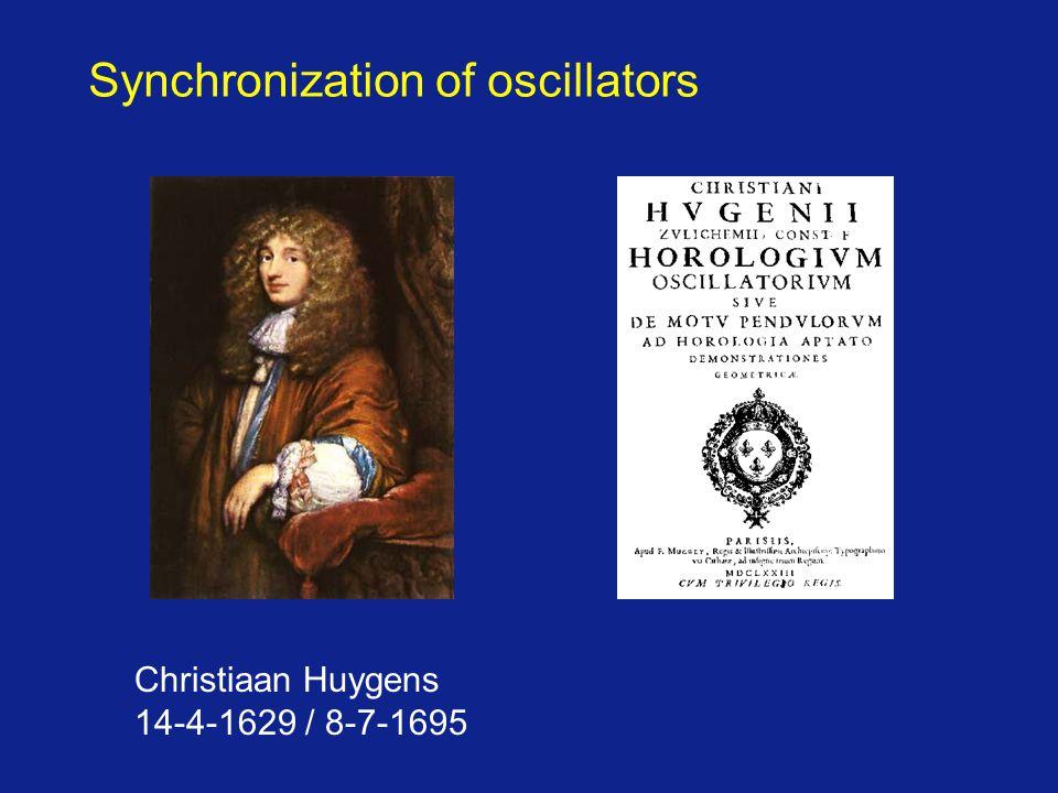Synchronization of oscillators