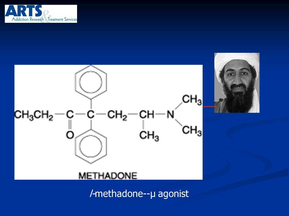 l-methadone--µ agonist