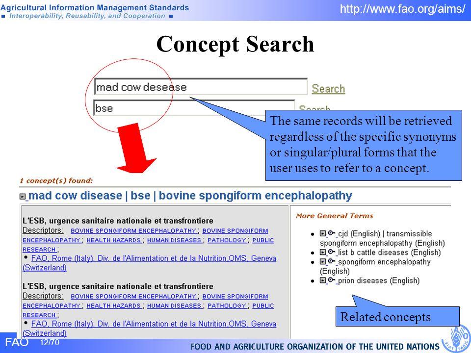 Concept Search
