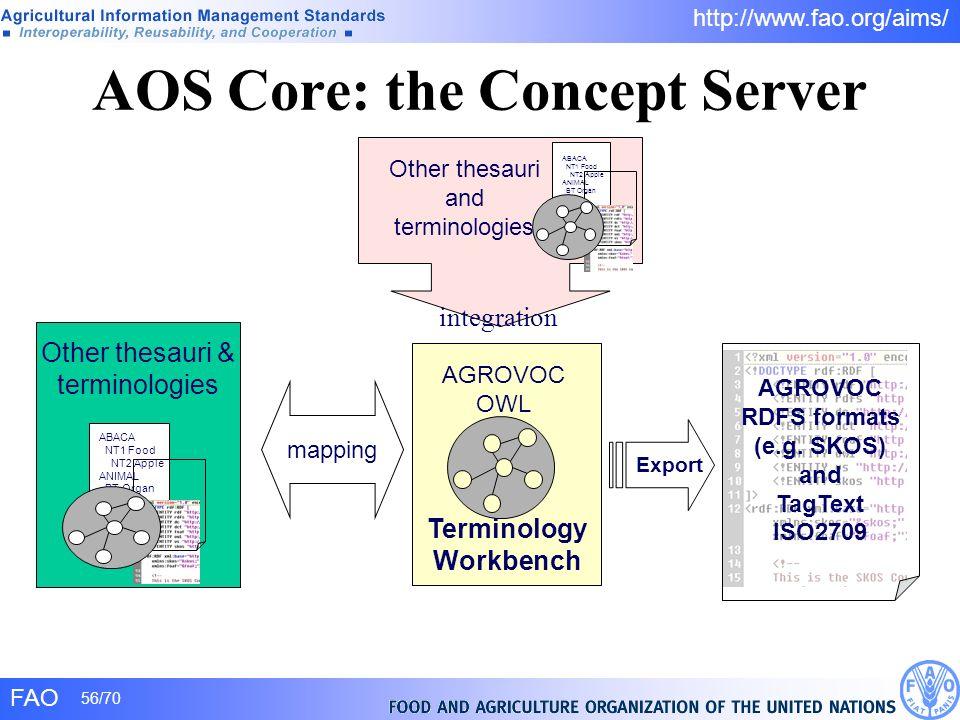 AOS Core: the Concept Server