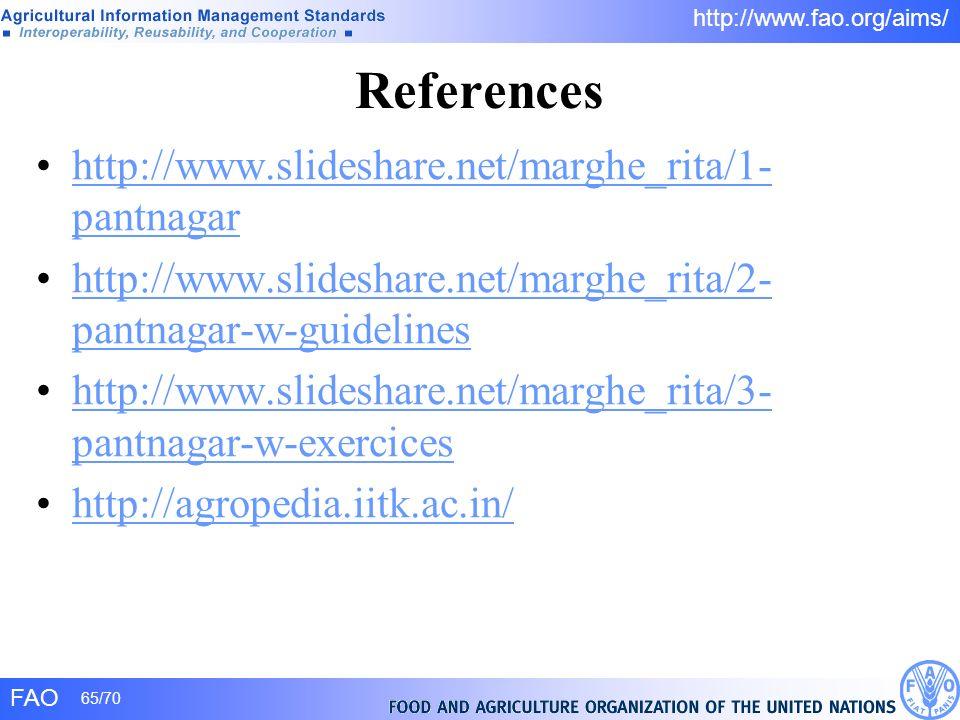 References http://www.slideshare.net/marghe_rita/1-pantnagar