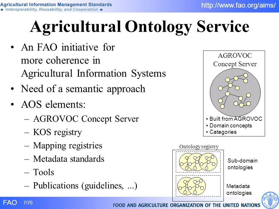 Agricultural Ontology Service