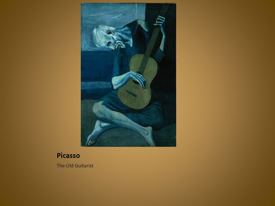 Picasso The Old Guitarist