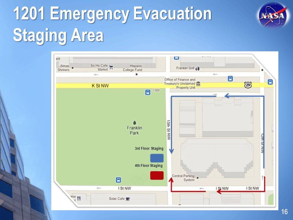 1201 Emergency Evacuation Staging Area