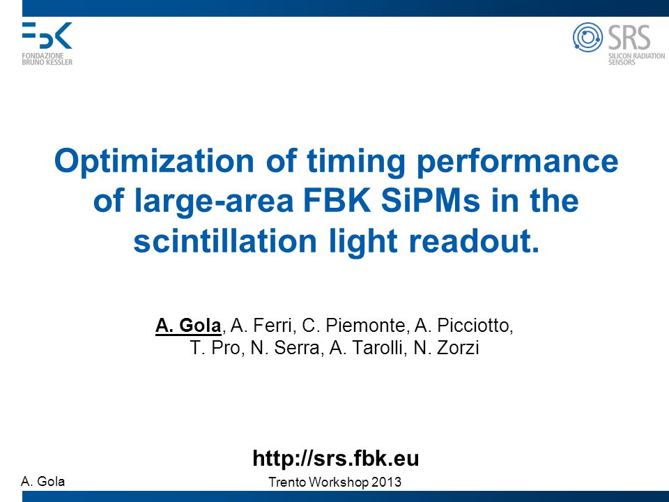 Optimization of timing performance of large-area FBK SiPMs in the scintillation light readout.