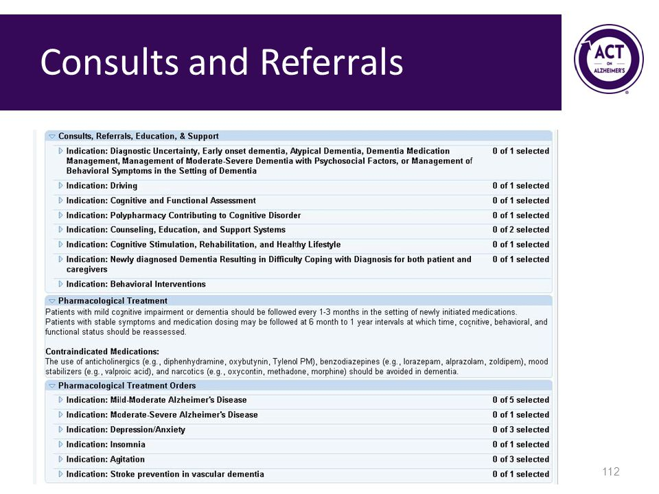 Consults and Referrals