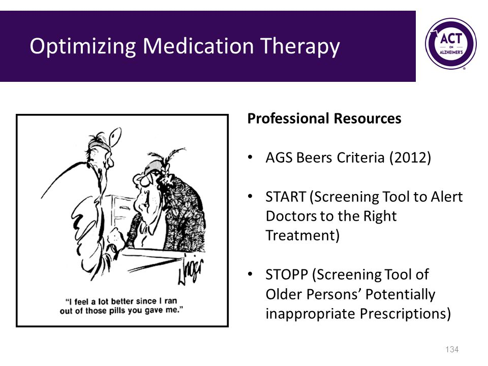 Optimizing Medication Therapy