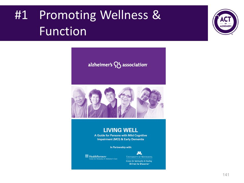 #1 Promoting Wellness & Function