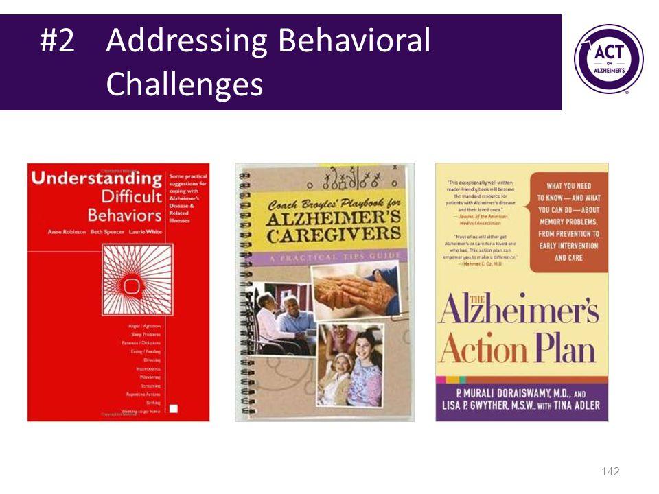 #2 Addressing Behavioral Challenges