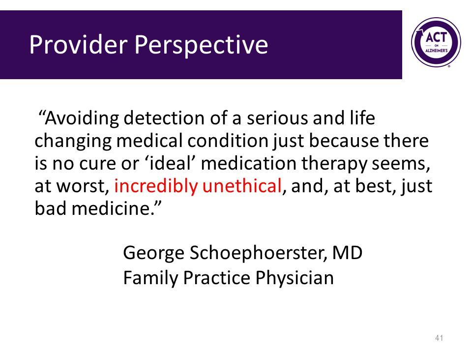 Provider Perspective Family Practice Physician