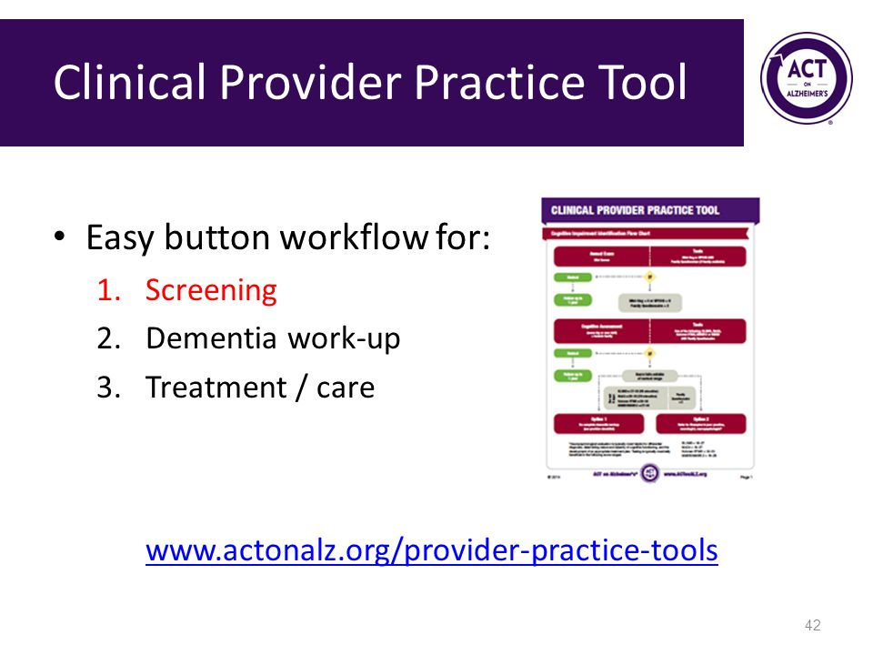 Clinical Provider Practice Tool