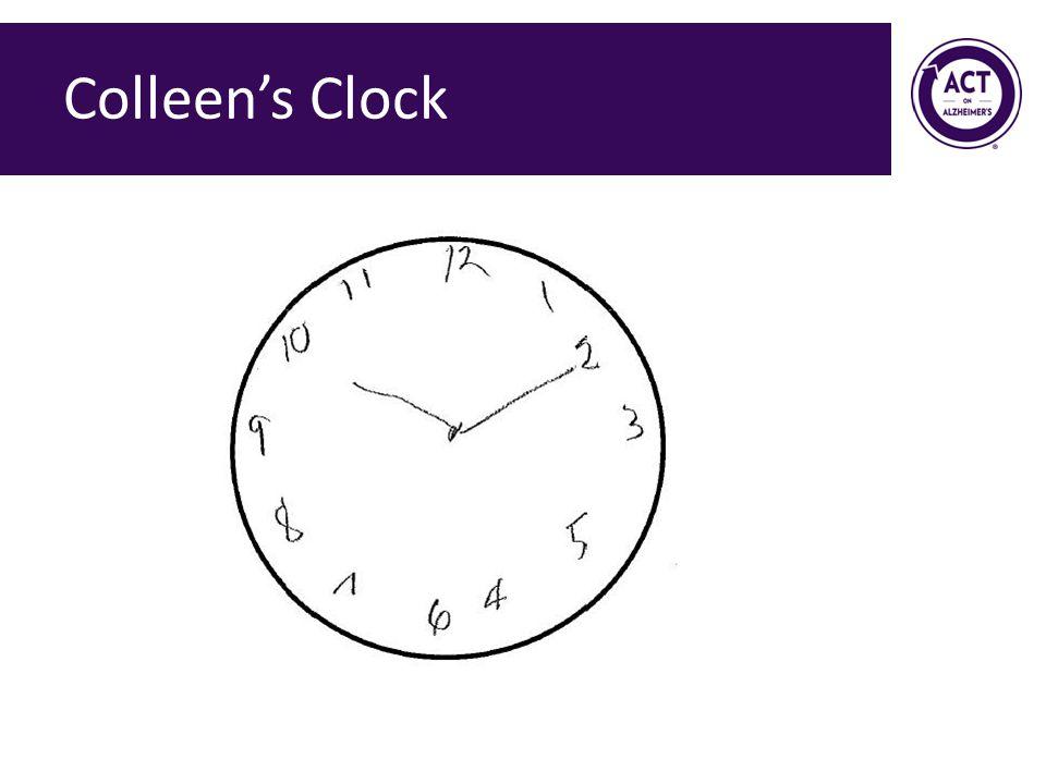 Colleen's Clock Speaker Notes:
