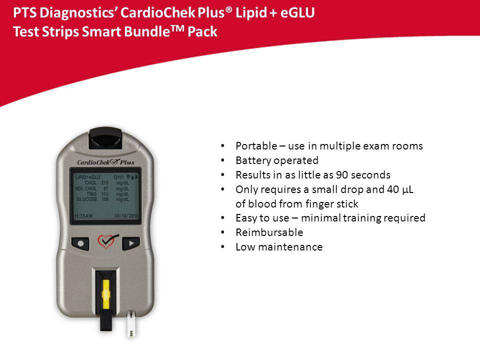 PTS Diagnostics' CardioChek Plus® Lipid + eGLU