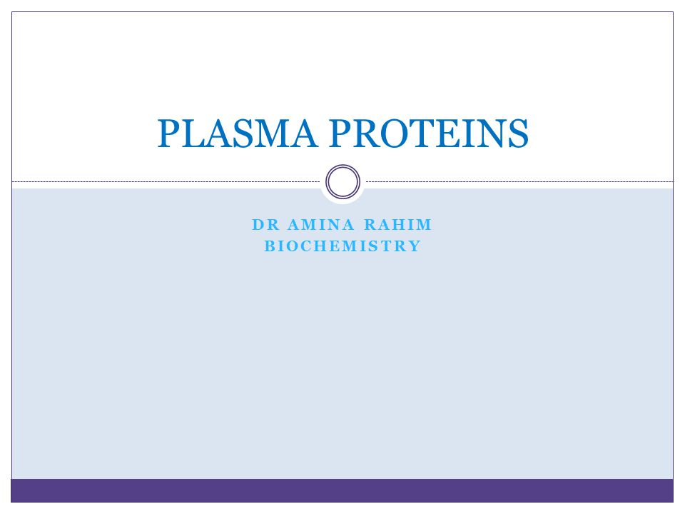 DR AMINA RAHIM BIOCHEMISTRY