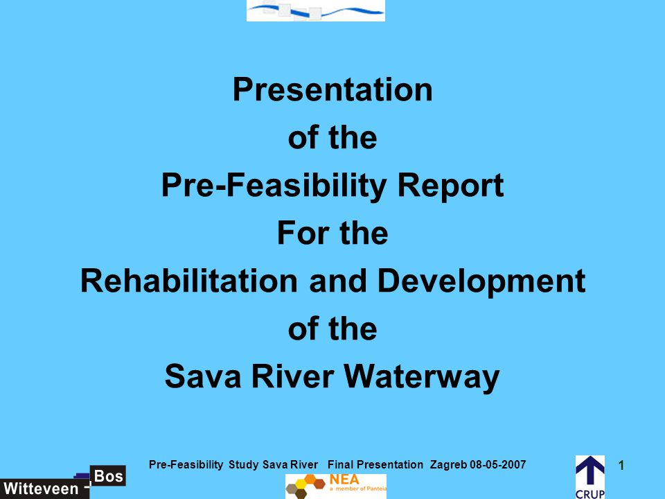 Pre-Feasibility Report For the Rehabilitation and Development