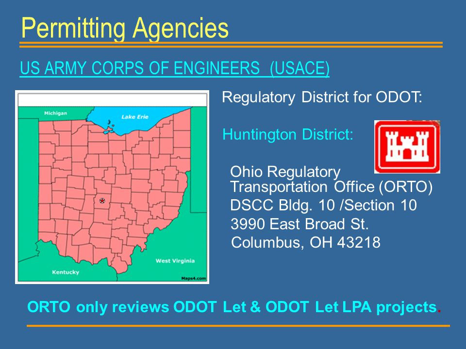 ORTO only reviews ODOT Let & ODOT Let LPA projects.