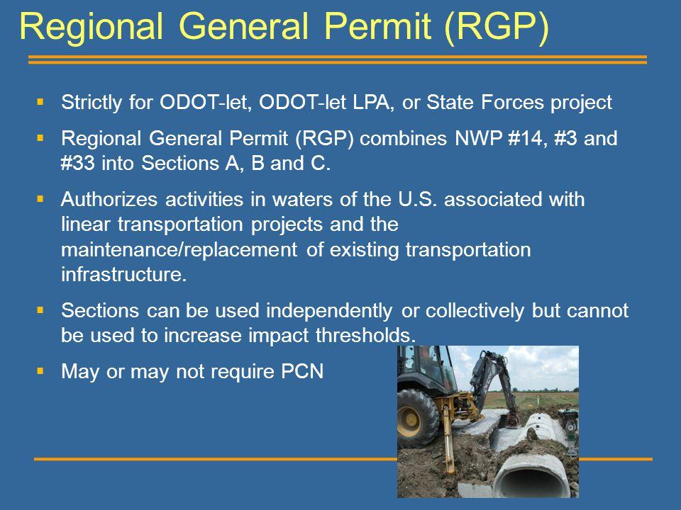 Regional General Permit (RGP)