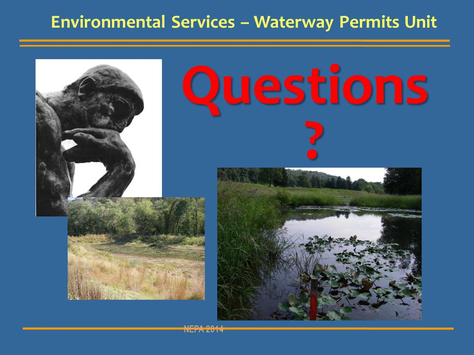 Environmental Services – Waterway Permits Unit