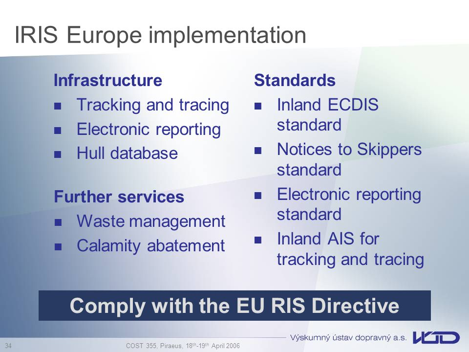 IRIS Europe implementation