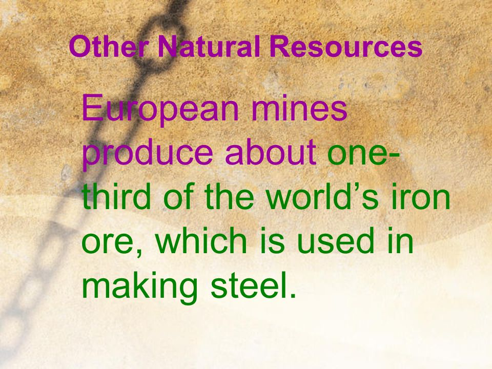 Other Natural Resources