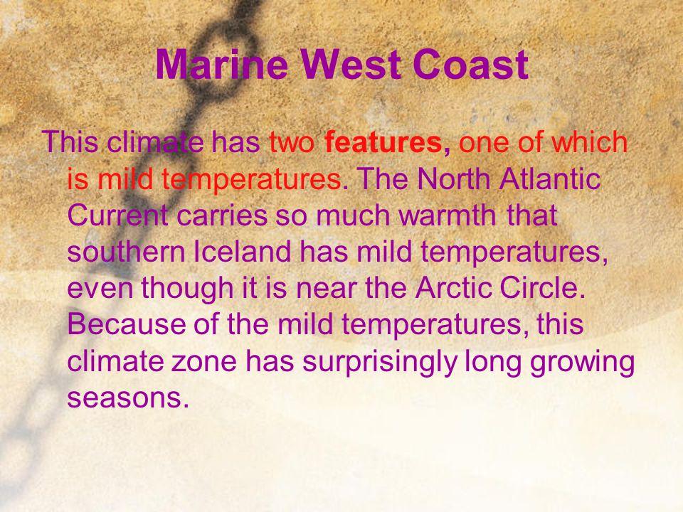 Marine West Coast