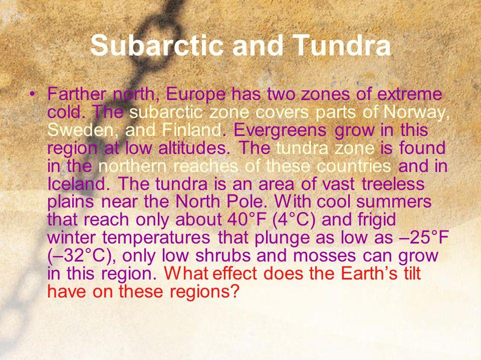 Subarctic and Tundra