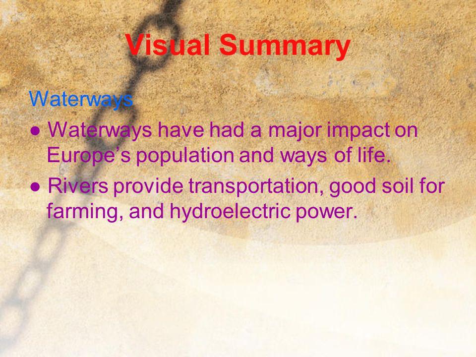 Visual Summary Waterways