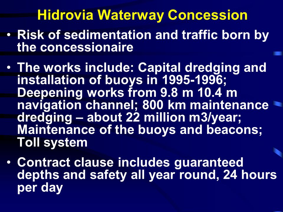 Hidrovia Waterway Concession