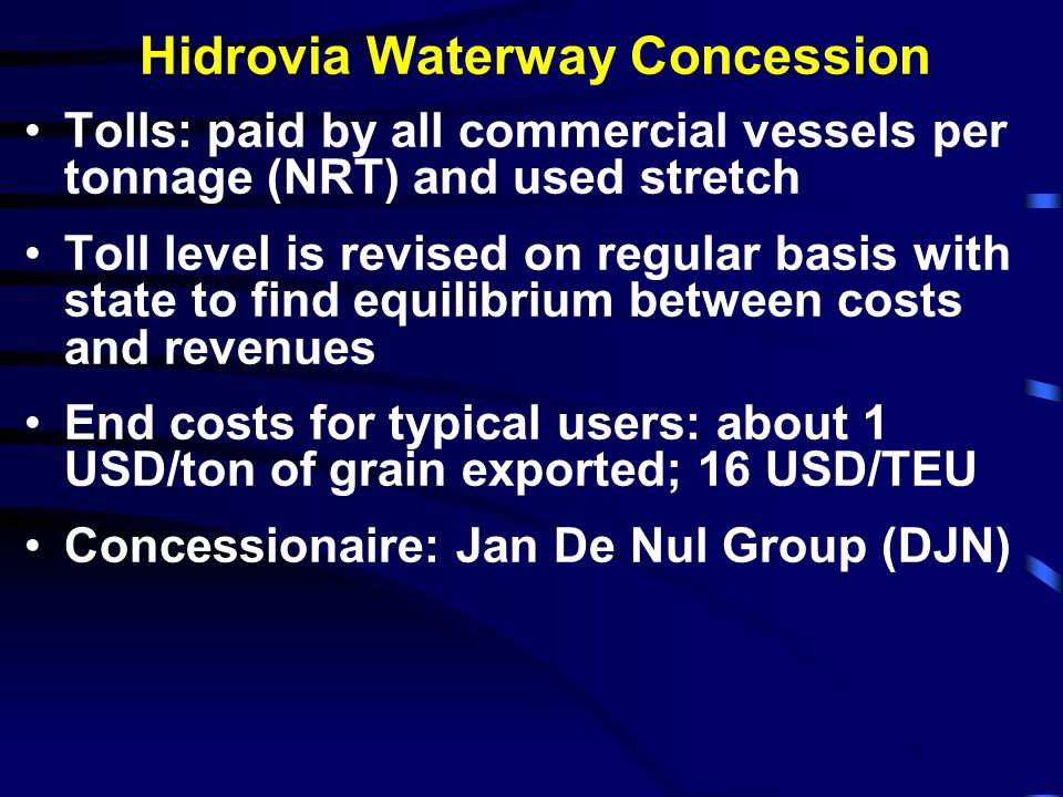Hidrovia Waterway Concession