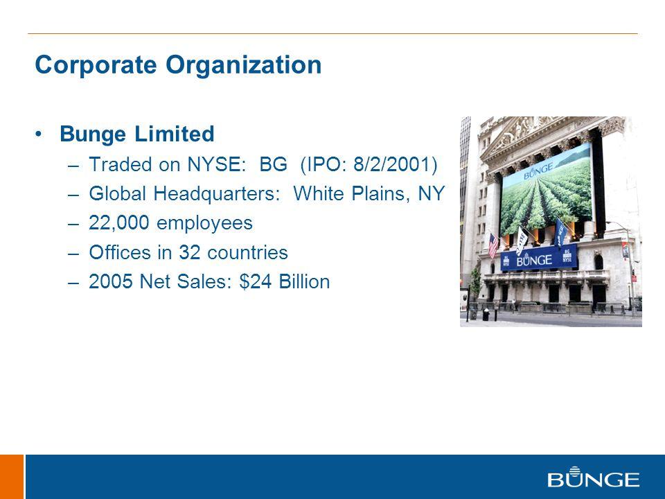 Corporate Organization