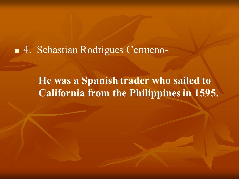 4. Sebastian Rodrigues Cermeno-