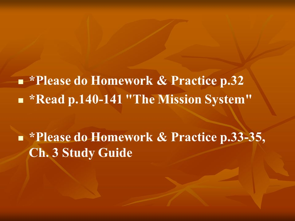 *Please do Homework & Practice p.32