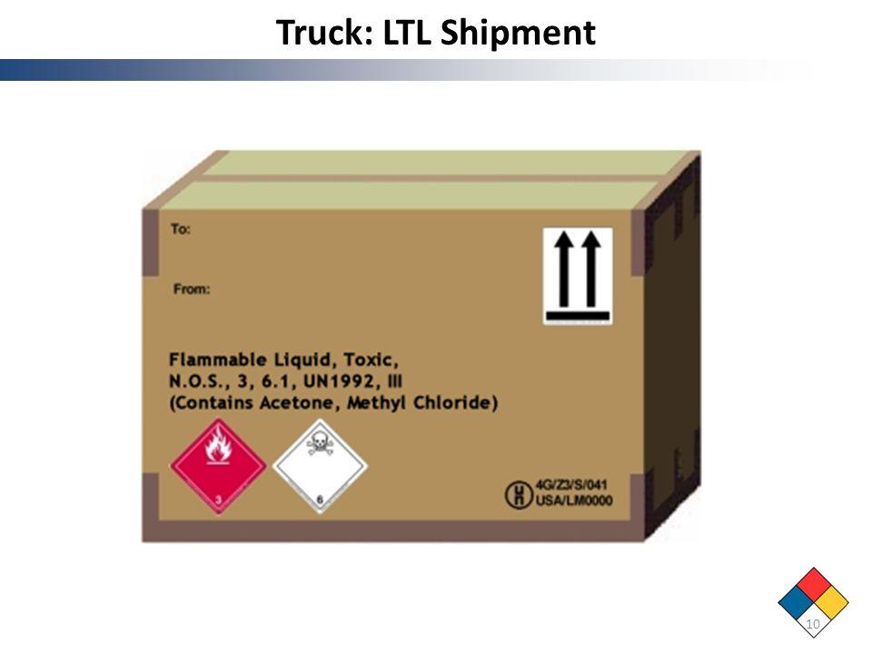 Truck: LTL Shipment