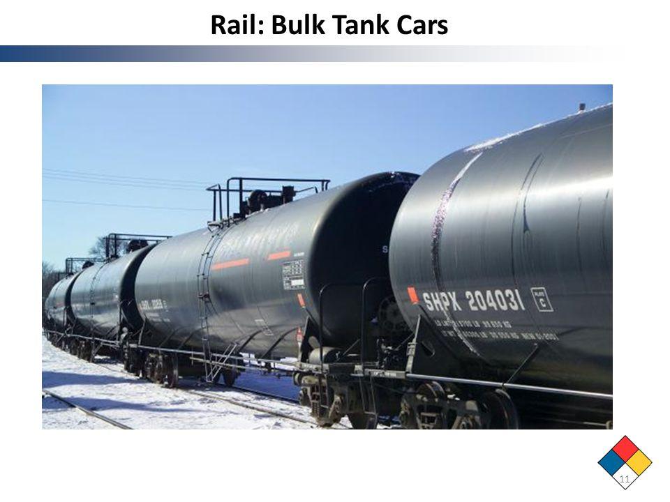 Rail: Bulk Tank Cars