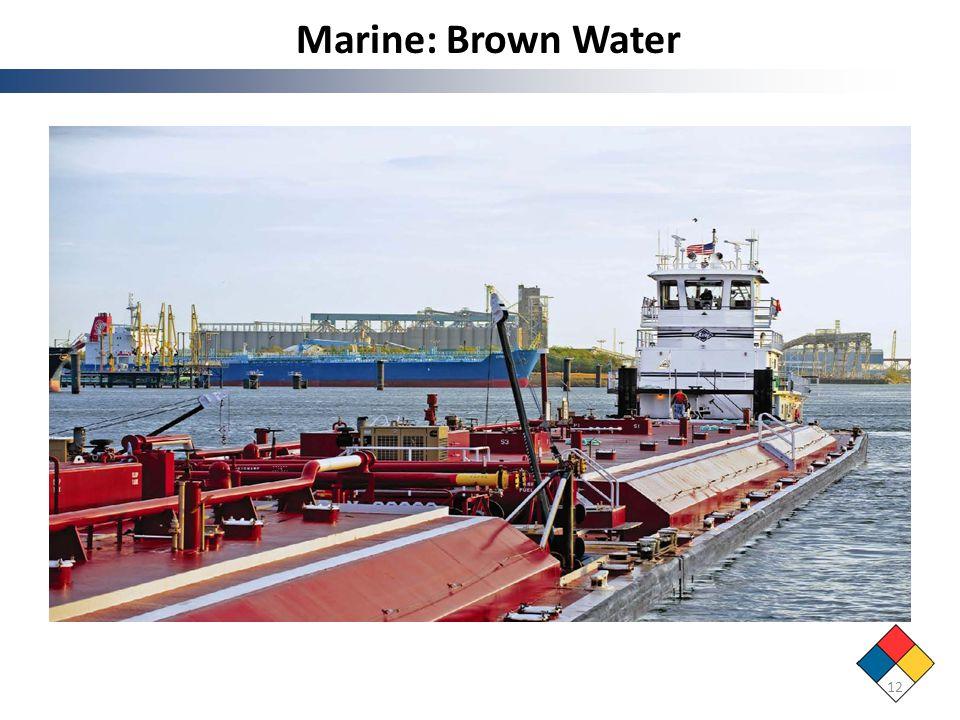 Marine: Brown Water