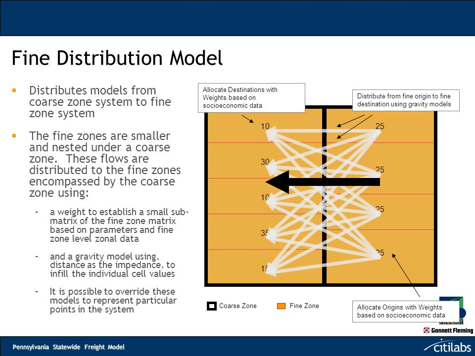 Fine Distribution Model