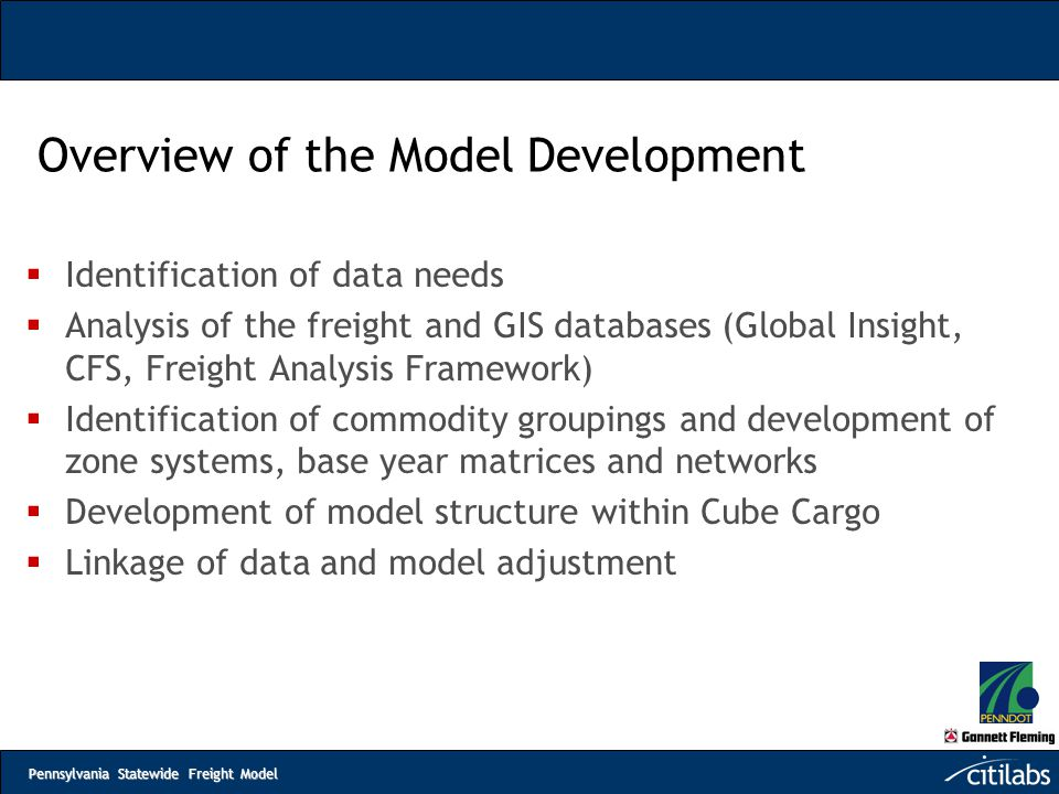 Overview of the Model Development