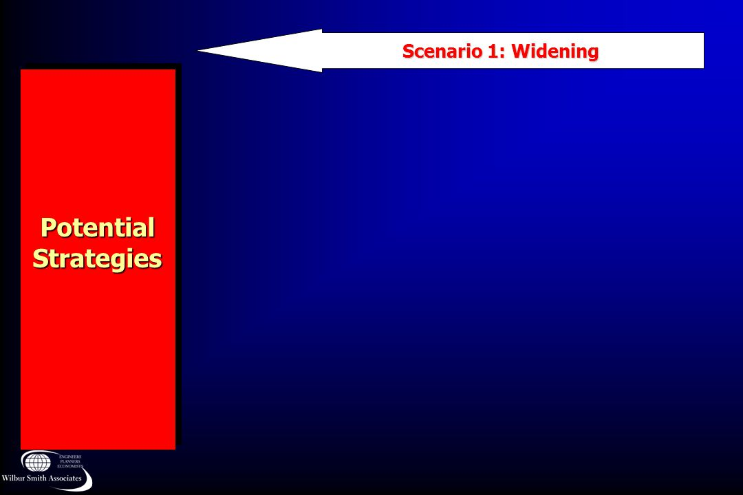 Scenario 1: Widening Potential Strategies