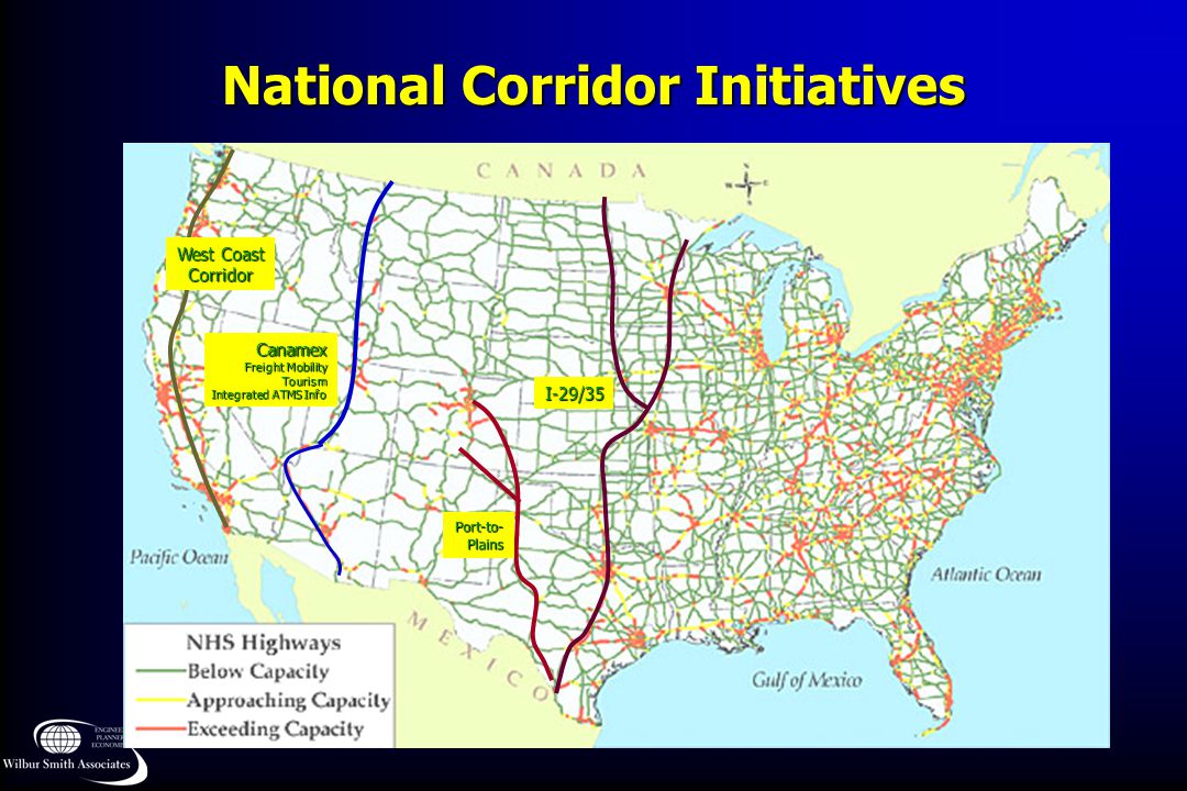 National Corridor Initiatives
