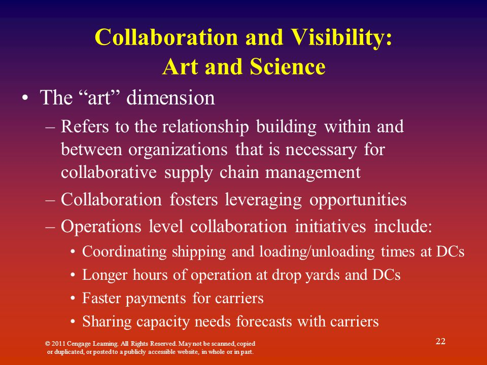 Collaboration and Visibility: Art and Science