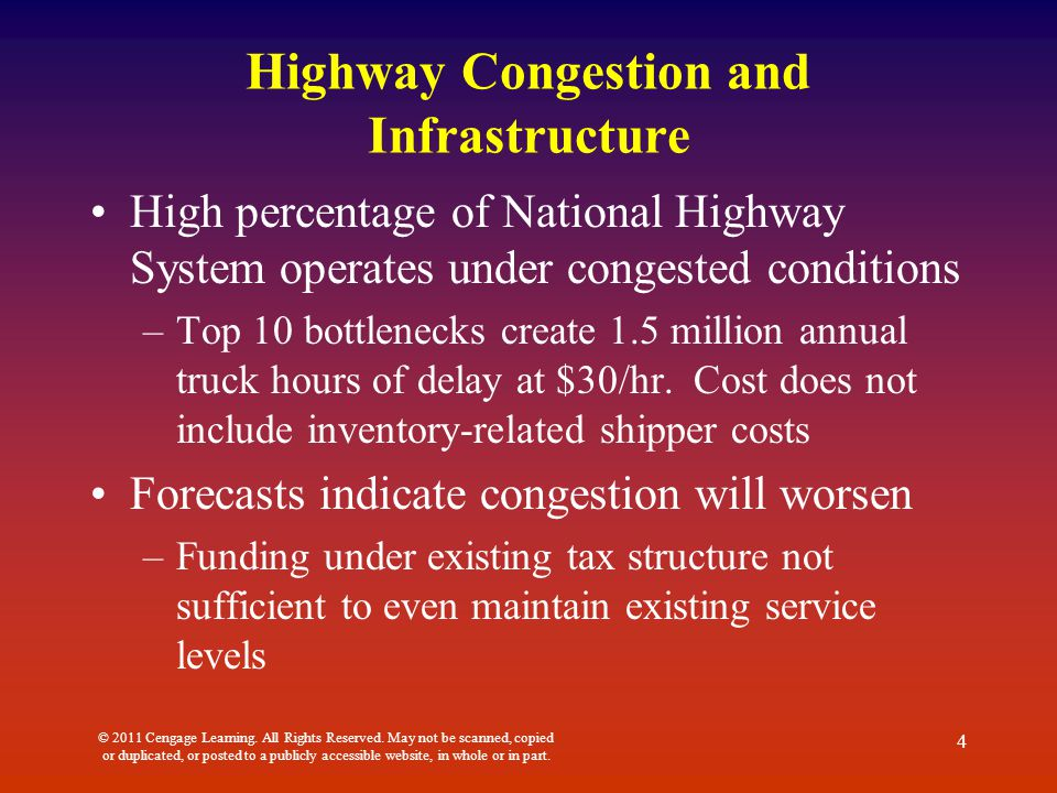 Highway Congestion and Infrastructure