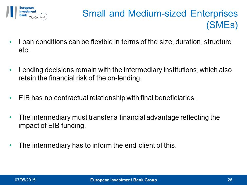 Small and Medium-sized Enterprises (SMEs)