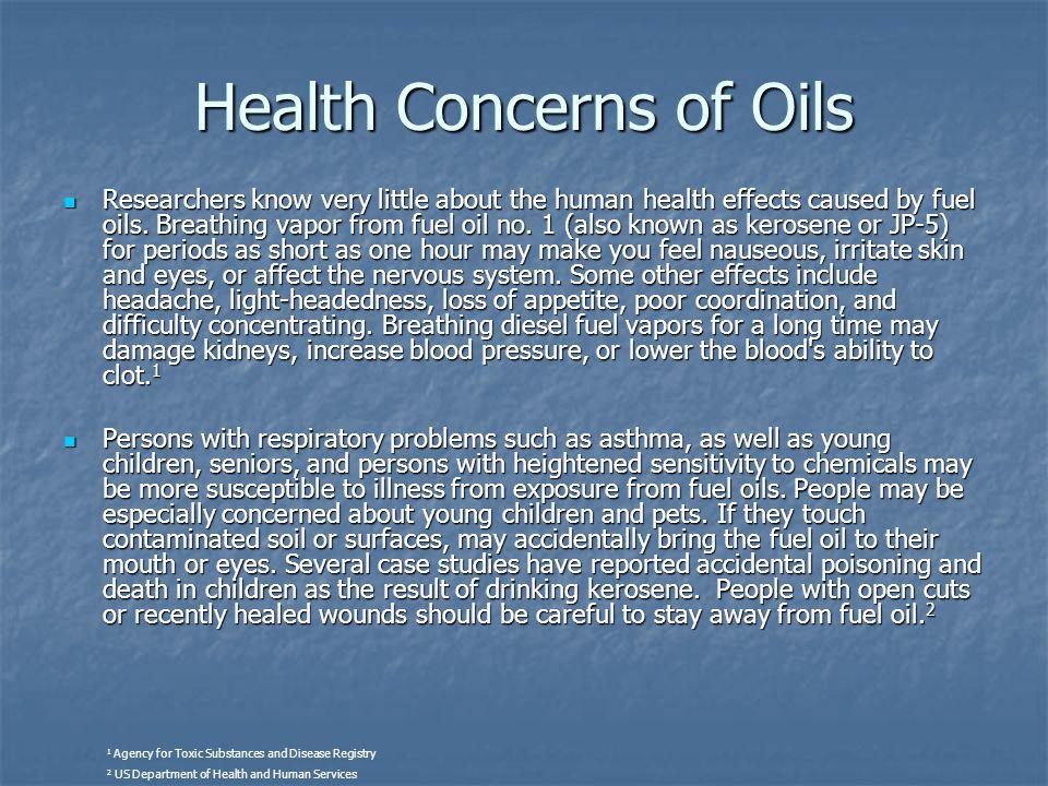 Health Concerns of Oils