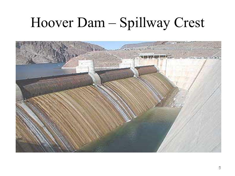 Hoover Dam – Spillway Crest