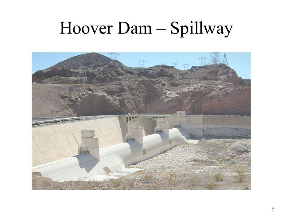 Hoover Dam – Spillway
