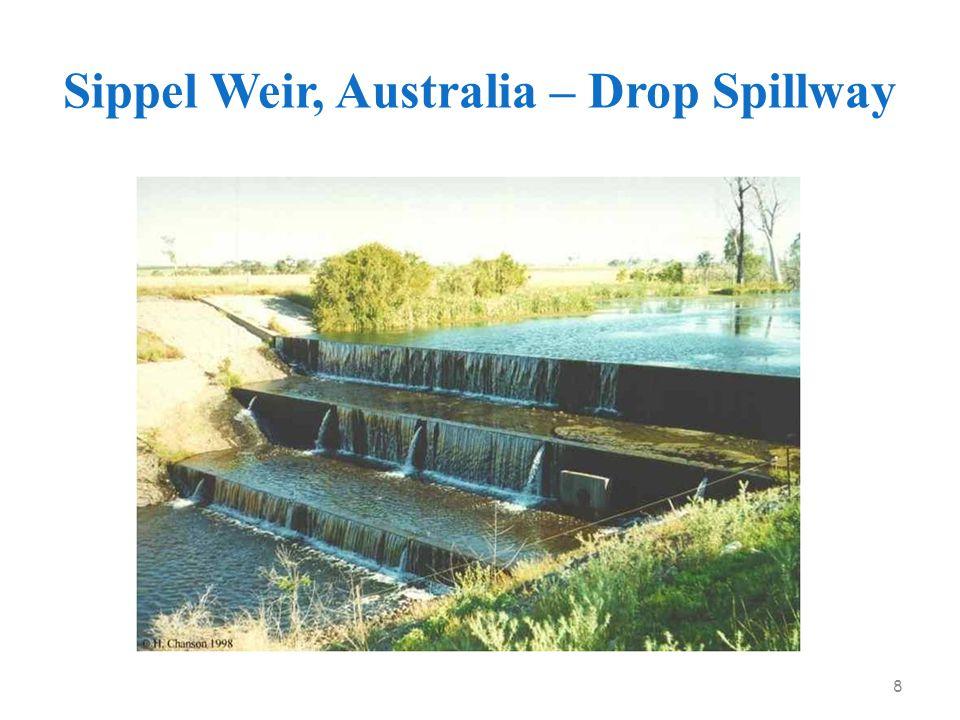 Sippel Weir, Australia – Drop Spillway