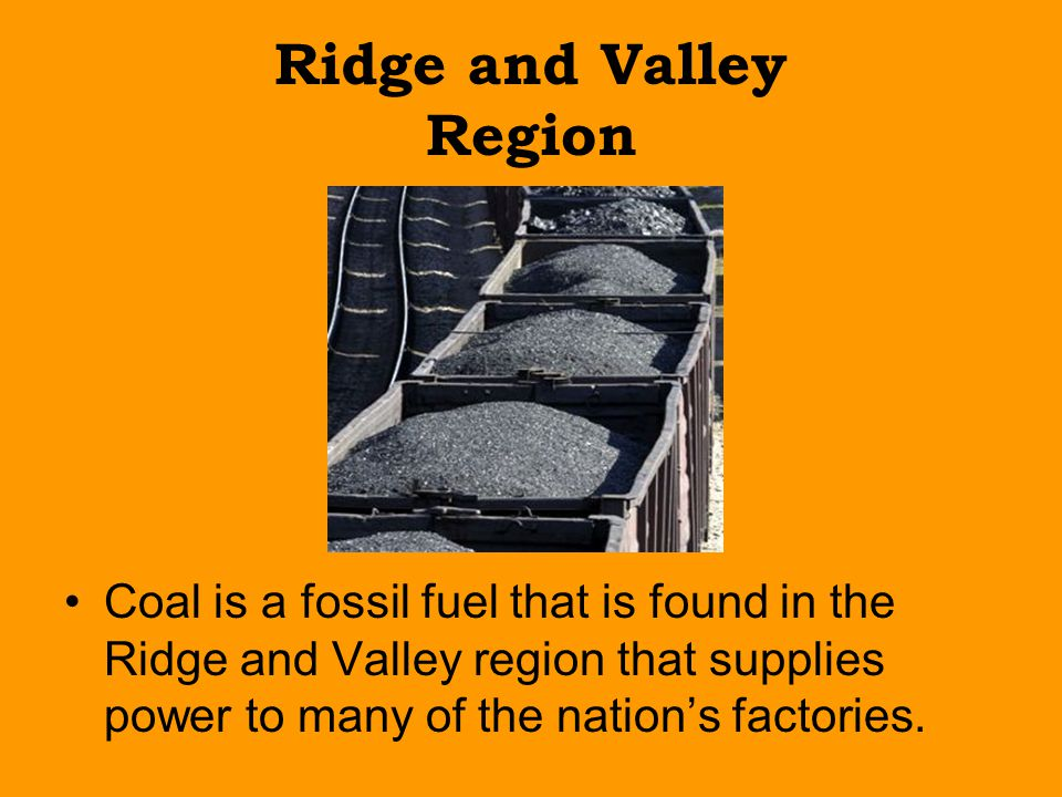 Ridge and Valley Region